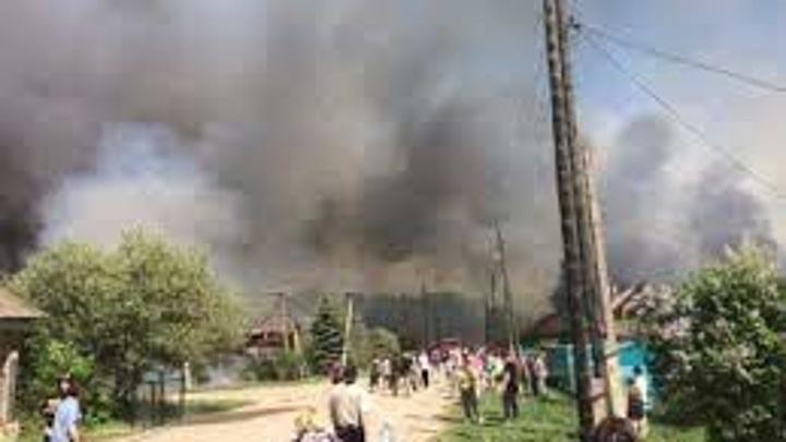 Пожар в Ульяновской области локализован