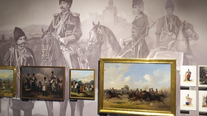 Выставка Империя и Кавказ. Оружие, обмундирование, ратные