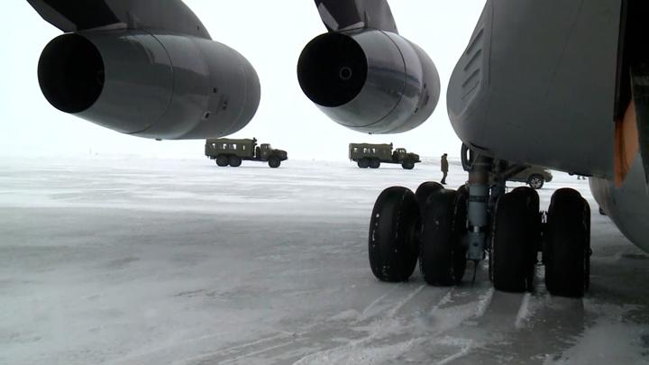 """""""Арктический трилистник"""": уникальные съемки с самой северной базы"""