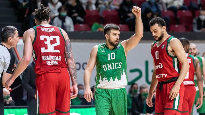 Баскетболисты УНИКСа вышли в финал Единой лиги ВТБ