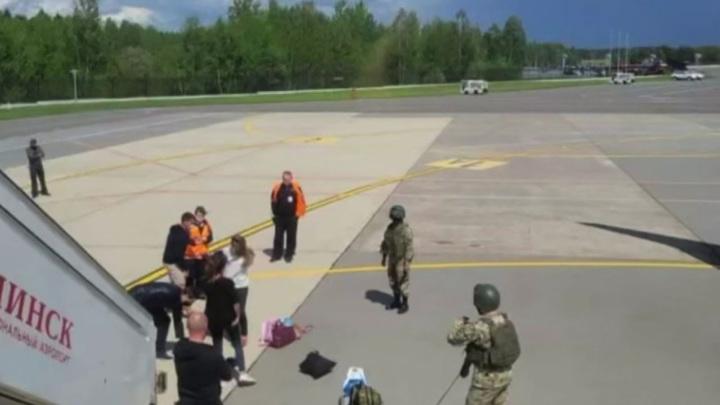 МИД России считает задержание Протасевича внутренним делом Белоруссии