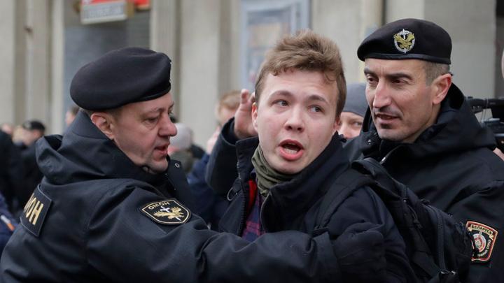 Глава КГБ Белоруссии Тертель назвал задержанного в Минске Протасевича террористом