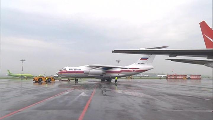 В Домодедове приземлился самолет с эвакуированными россиянами