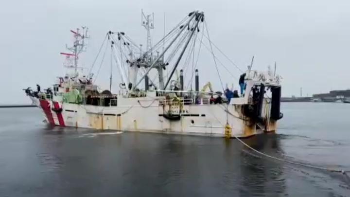 Погоня и стрельба: в Охотском море поймали японских браконьеров