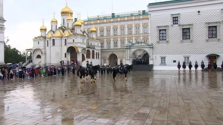 Президентский полк завершил сезон развода караулов