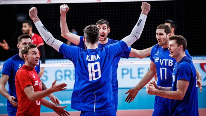 Волейболисты России обыграли Аргентину в Лиге наций