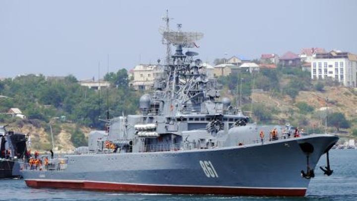 """""""Ладный"""" вернулся. Сторожевой корабль ЧФ вышел на испытания после ремонта"""