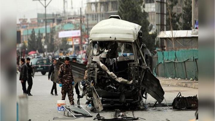 В Афганистане у здания полиции взорвался автомобиль