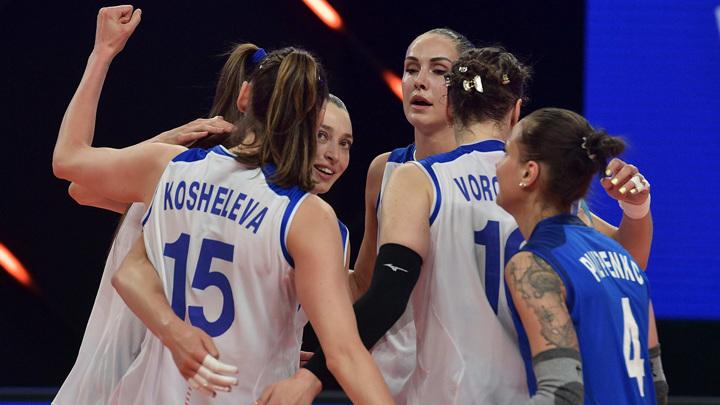 Игры-2020. Российские волейболистки разгромили Аргентину