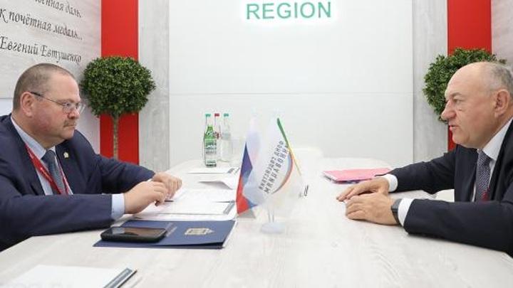 Врио пензенского губернатора встретился с директором Фонда содействия инновациям