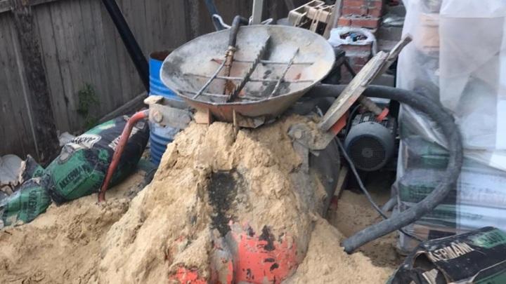 В Йошкар-Оле бетономешалка оторвала кисть рабочему