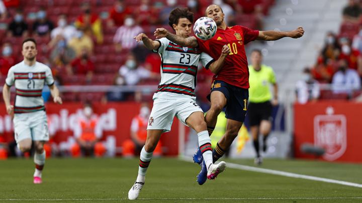 Испания и Португалия разошлись миром в товарищеском матче