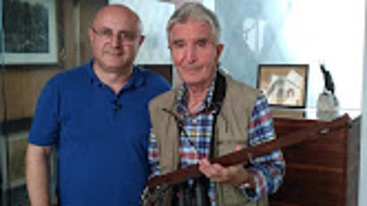 Николай Мамулашвили и Иоганн Фанзой - легендарный оружейник Ферлаха