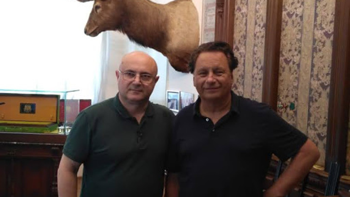 Николай Мамулашвили  и Питер Хофер