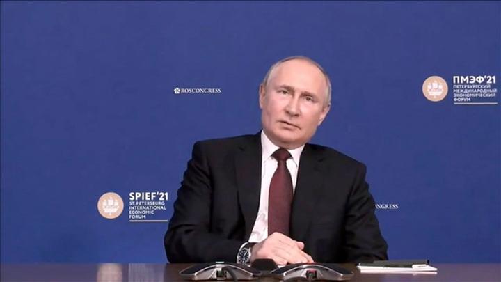 Путин напомнил о праве России выстраивать политическую систему самостоятельно