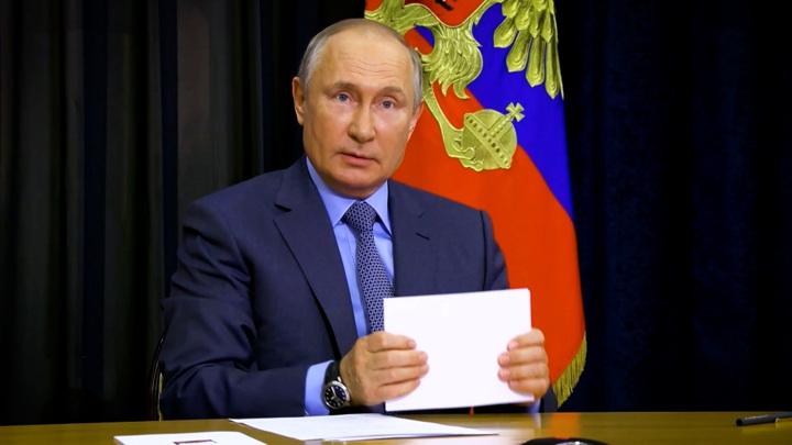 Путин готов выступить и вместе с Байденом, и без него