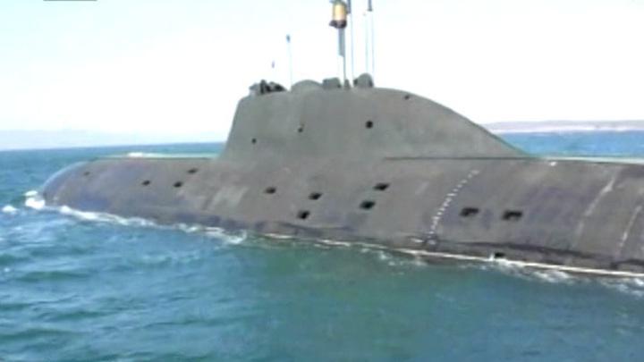 """Подводная лодка К-152 """"Нерпа"""" возвращается в Россию"""