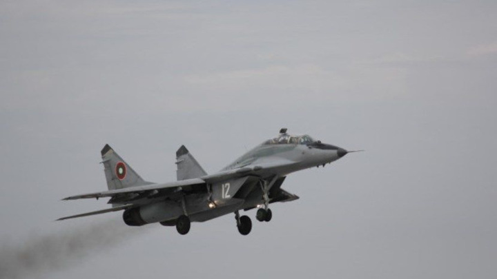 В Черном море разбился болгарский МиГ-29
