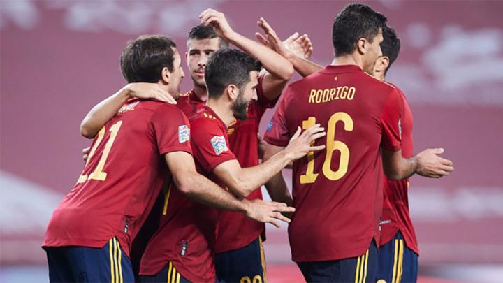Сборная Испании вышла в финал Лиги наций