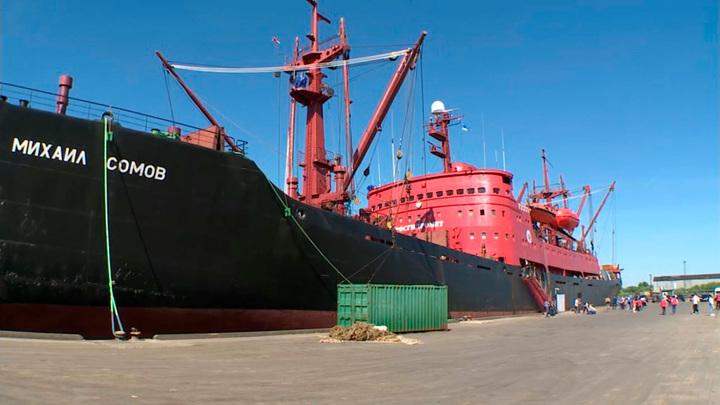 """Дан старт экспедиции """"Газпром нефти"""" по изучению """"морского единорога"""""""