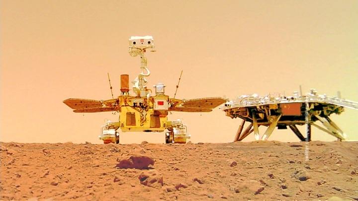 На Марсе установлен флаг Китая