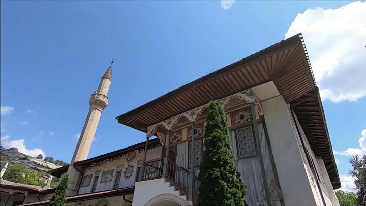 В Бахчисарае идёт реставрация Ханского дворца