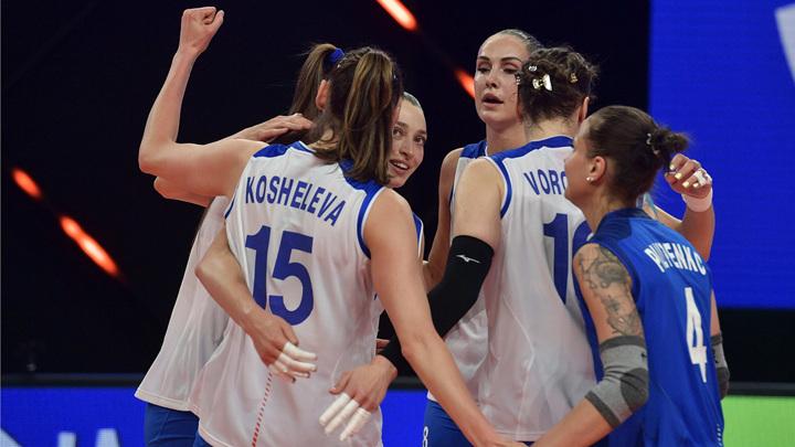 Волейболистки из России нанесли США первое поражение на Играх