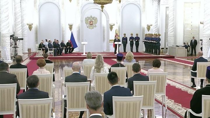 Владимир Путин вручил Государственные премии Российской Федерации
