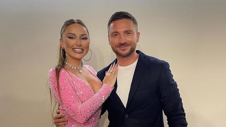 Анна Дзюба и Сергей Лазарев (Фото из https://www.instagram.com/lazarevsergey)