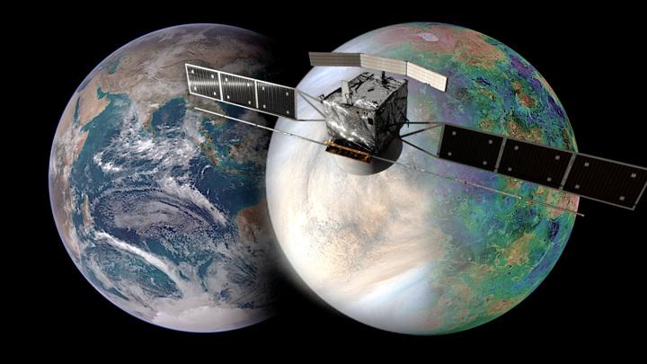 """Долгожданная миссия позволит узнать, как именно Венера стала """"злым двойником"""" Земли."""