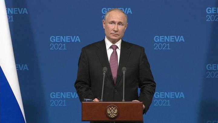 Путин: переговоры с Байденом прошли хорошо