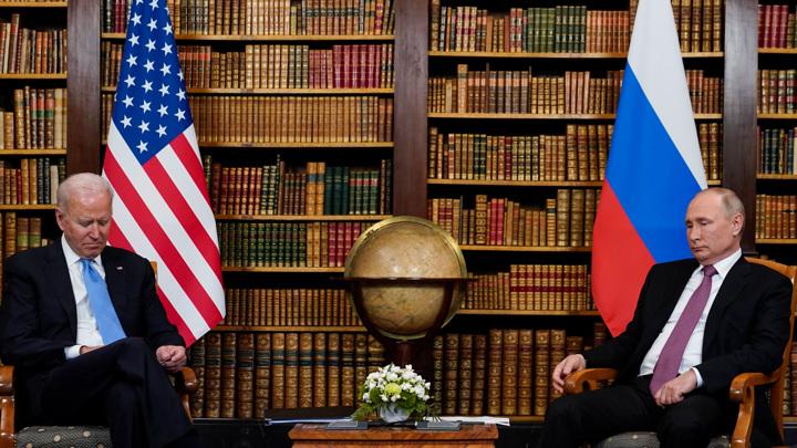 Что говорит Путин и не может сказать Байден