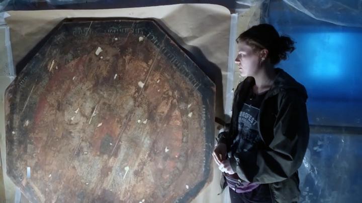 Редкую икону нашли во время реставрации Спасской церкви в Тюмени