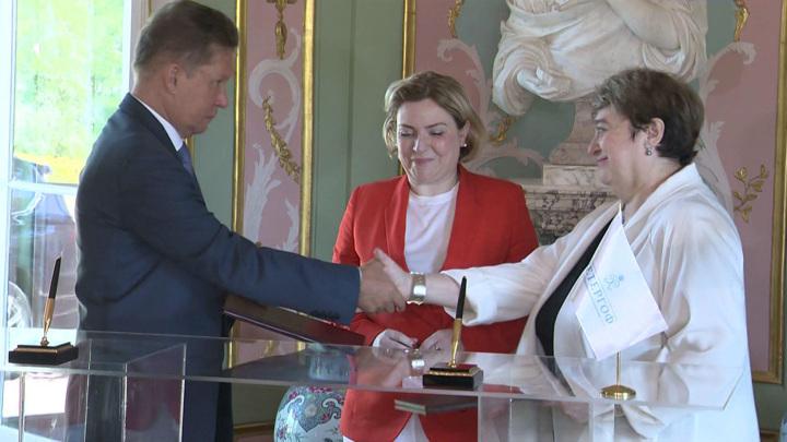 В Ораниенбауме при поддержке «Газпрома» восстанавливают Китайский дворец
