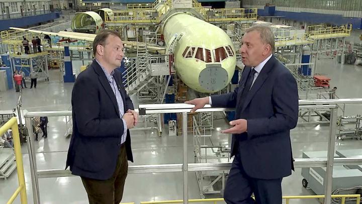 Борисов рассказал о перевороте в самолетостроении