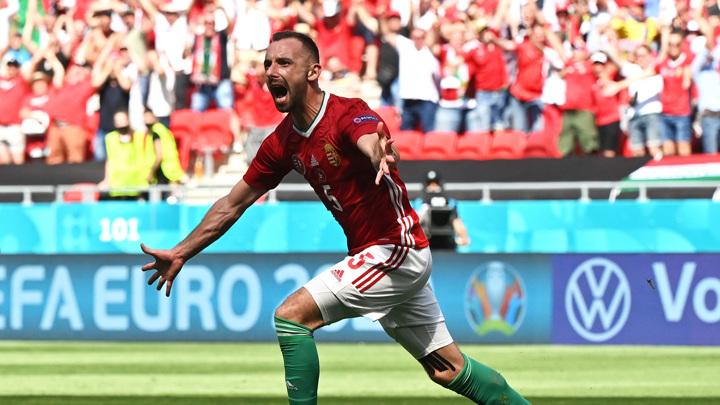 Венгры забили французам в конце первого тайма