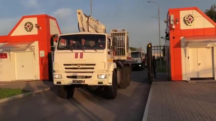 Третья бригада донских спасателей отправилась в Крым