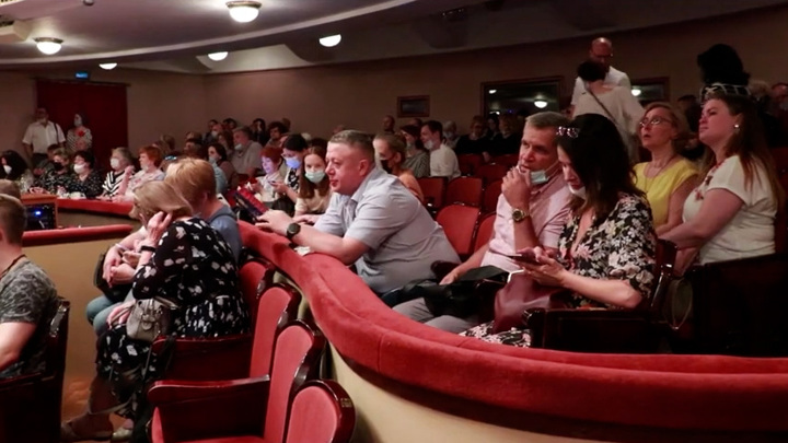 Максимальное количество зрителей в театрах Москвы сокращено до 500