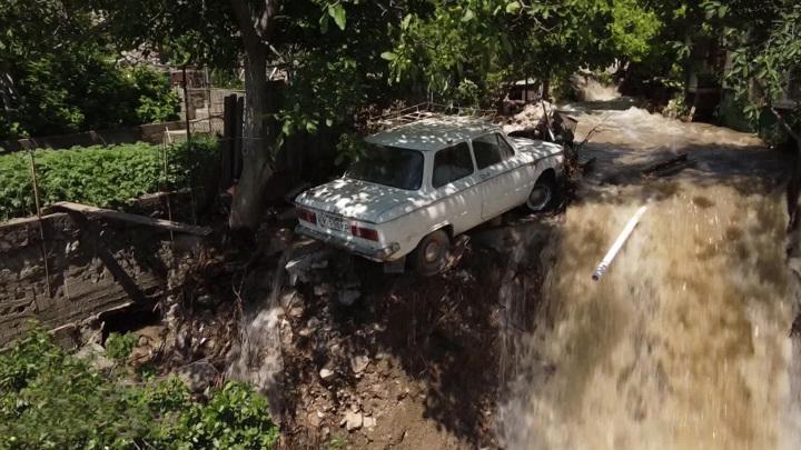 Число пострадавших от потопа в Ялте увеличилось до 43