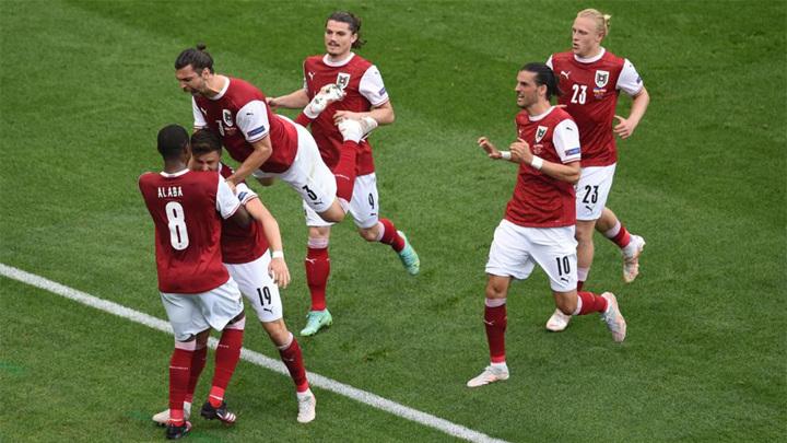 Сборная Австрии по футболу обыграла команду Украины