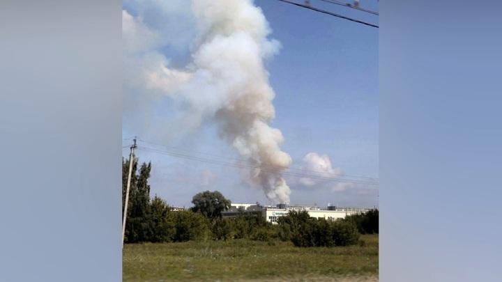 Склад с порохом загорелся в Стерлитамаке