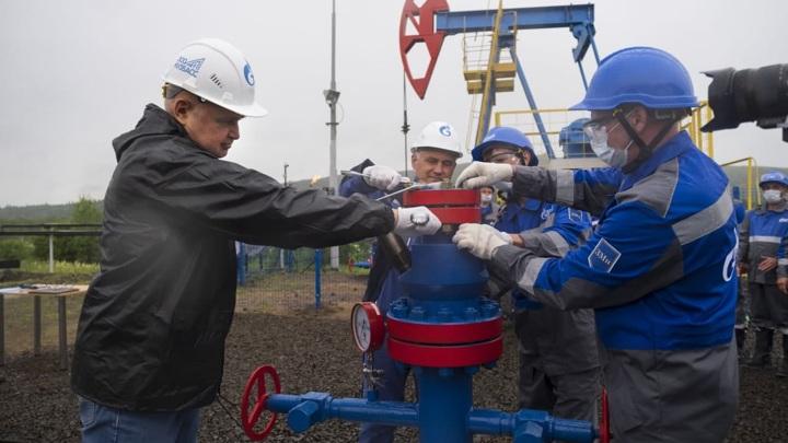 """""""Газпром"""" начал строительство завода по производству СПГ в Кузбассе"""