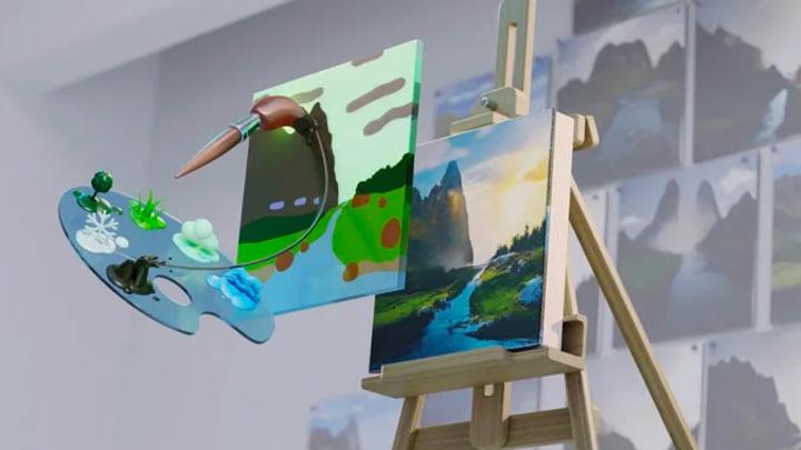 """Нейросетевого """"художника"""" Nvidia может попробовать каждый"""