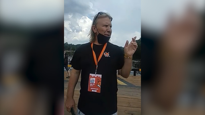 "Кадр из видео ""Виктор Дробыш об открытии Foxrockfest"" / YouTube"