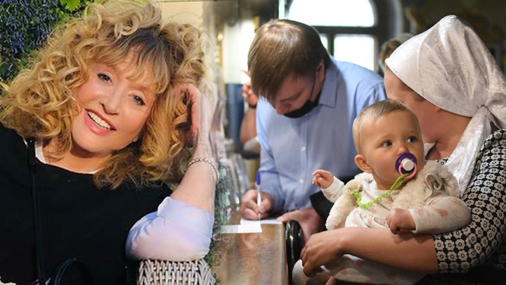 Алла Пугачева и ее внучатая племянница Алла