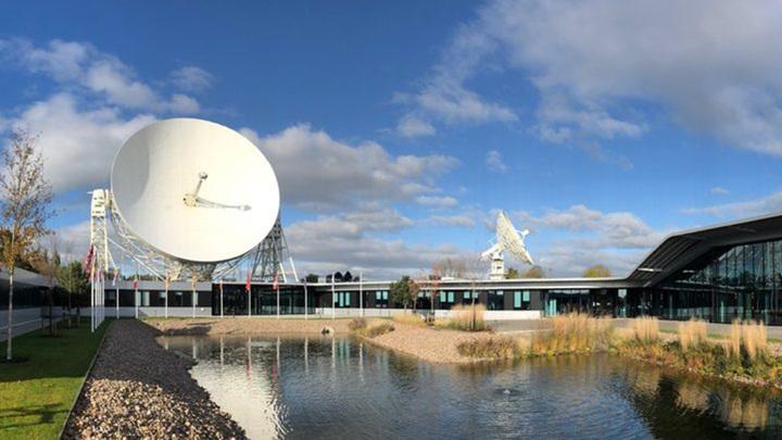 Штаб-квартира SKA Organisation в обсерватории Джодрелл-Бэнк близ Манчестера, Великобритания.