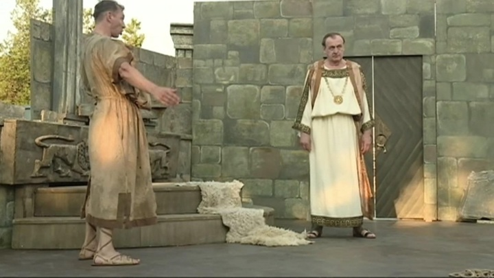 """Постановку """"Забыть Герострата!"""" представили на сцене Античного театра Херсонеса"""