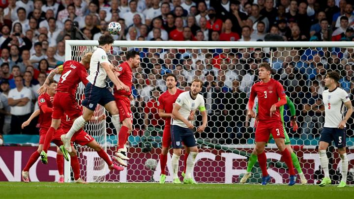Евро-2020. Англия – Дания – 2:1. Матч 1/2 финала