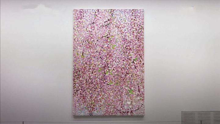 """Выставка работ Дэмиена Херста """"Цветение вишни"""" открылась в Париже"""