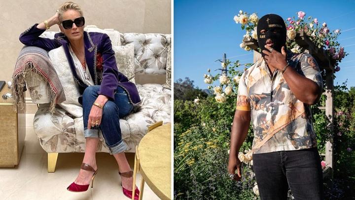 СМИ заподозрили 63-летнюю Шэрон Стоун в романе с молодым рэпером